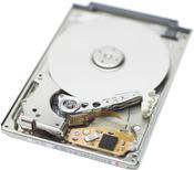 a 1.8-inch hard drive