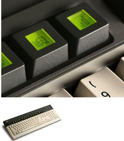 United Keys Presents 205pro Keyboard With Programmable Lcd