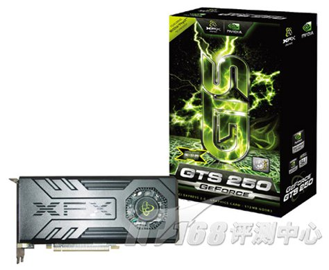 XFX GeForce GTS 250 pictured