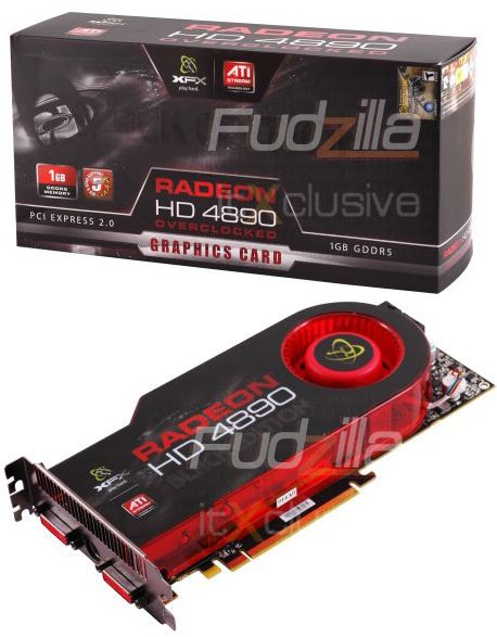 XFX Radeon HD 4890 Black Edition with 1GHz clock gets pictured