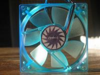 Front of the fan