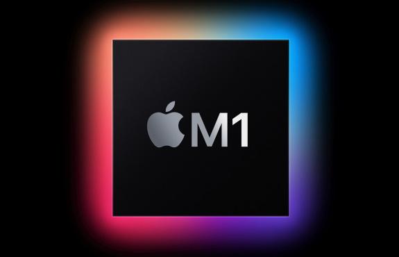 Apple M1 SoC logo