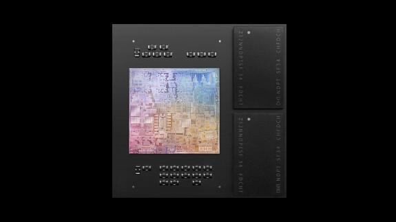 Apple M1 SoC layout