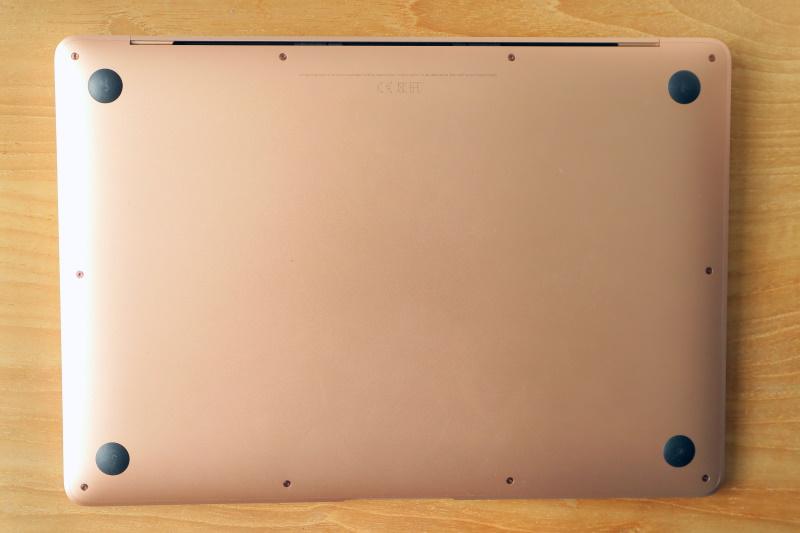 Apple MacBook Air M1 rear