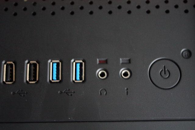 BitFenix Ronin top I/O