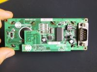 The PCB plate of the LCD screen