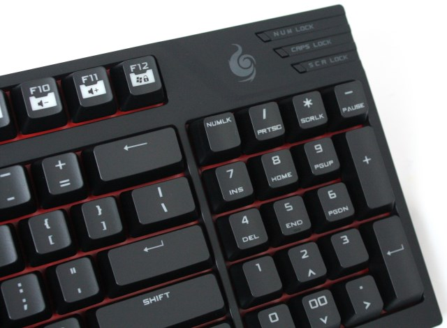 CM QuickFire TK keyboard LED indicators
