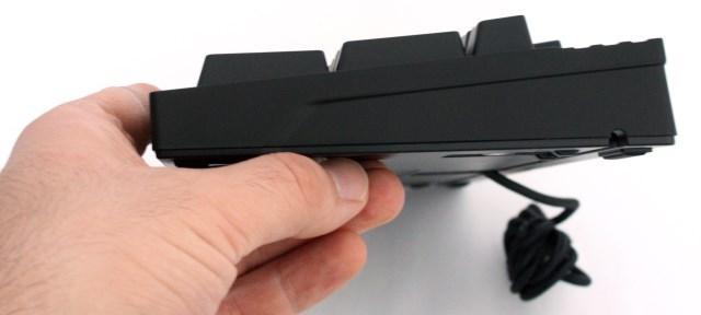 CM QuickFire TK keyboard sideview