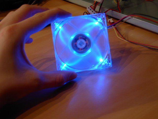 Как сделать своими руками кулер с подсветкой