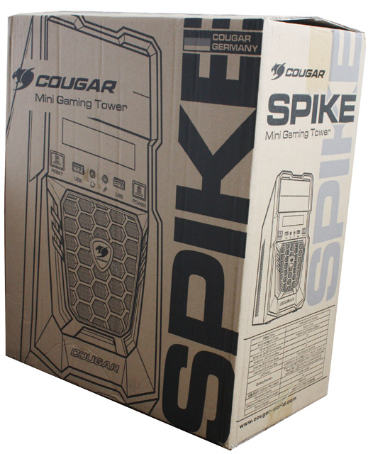 Cougar Spike cardboard box