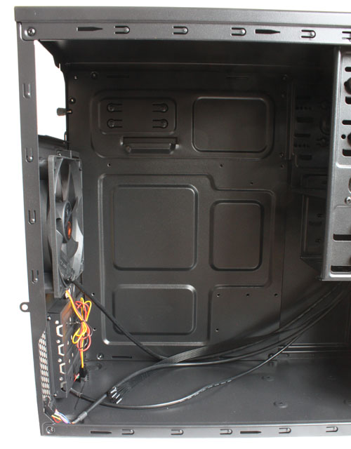Cougar Spike  motherboard area
