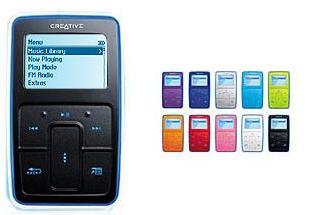 Creative Zen Micro productshot