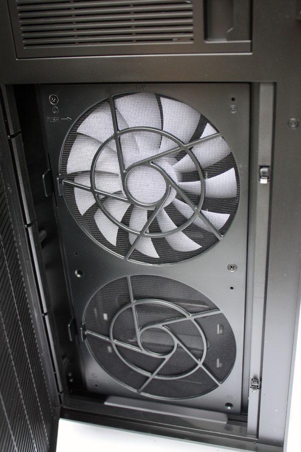 Define XL front   fan cover open