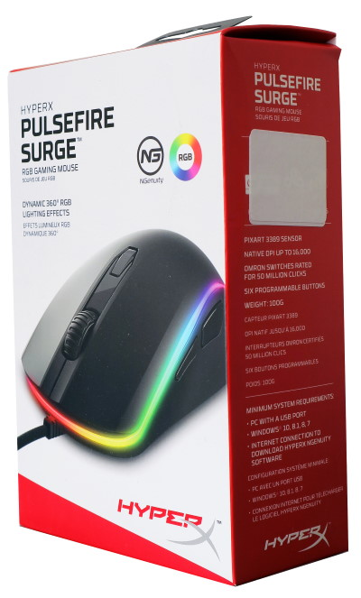 HyperX Pulsefire Surge box
