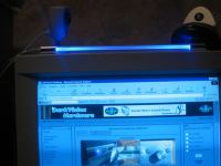 Blue LED light