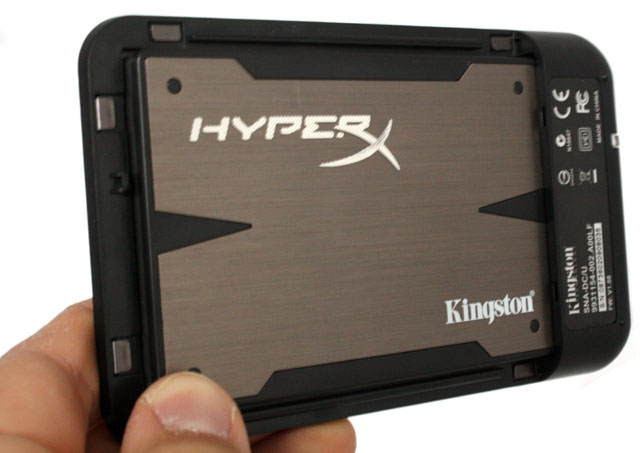 Kingston HyperX 3K  USB enclosure