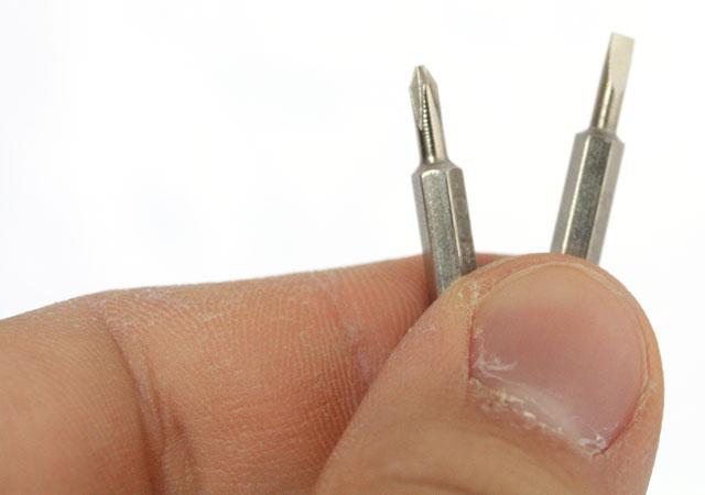 Kingston HyperX 3K  screwdriver pen tips