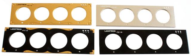 Lamptron FC10 SE front plates