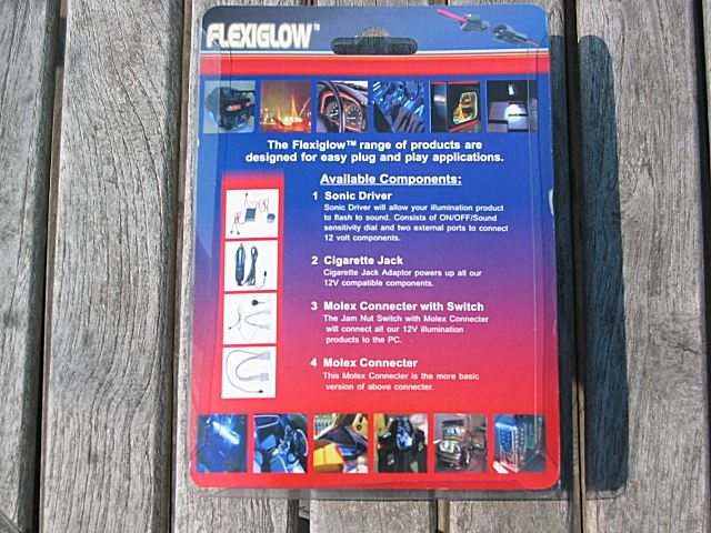 DRIVER FOR FLEXIGLOW SONIC