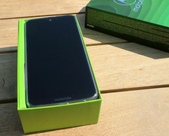 Moto G7 Plus open box