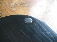 A rubber feet