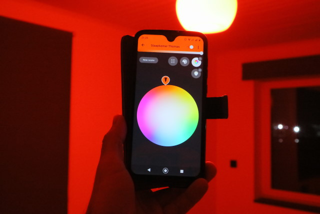 Philips Hue fancy smartphone controlled lights
