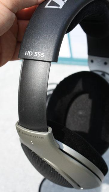 HD 555 headset   adjustable size