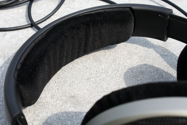 HD 555 headset padding