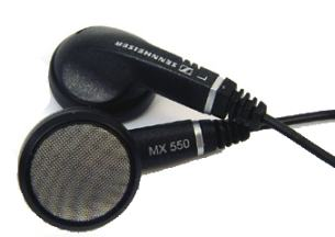 Sennheiser MX550 earphones