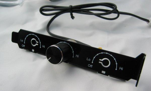 SilverStone FM123 120mm fan with fan controller review - DV