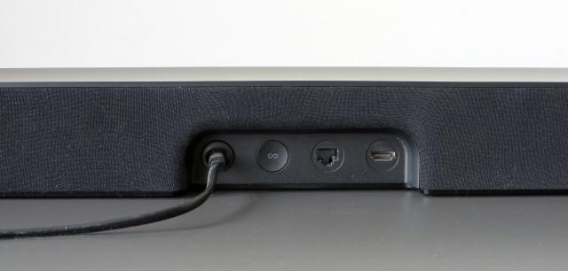 Sonos Beam rear ports