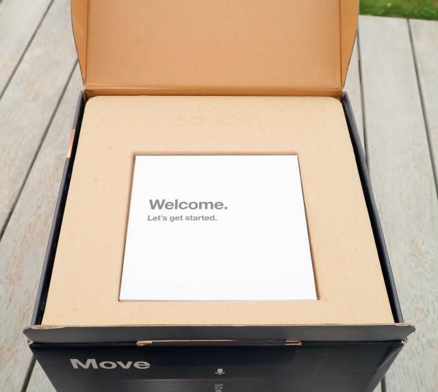 Sonos Move box opened