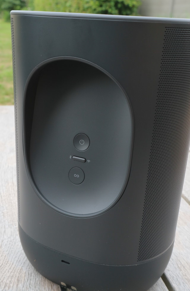 Sonos Move back buttons