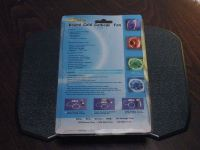 The backside of the package