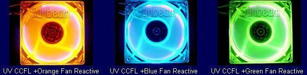 UV CCFL fans