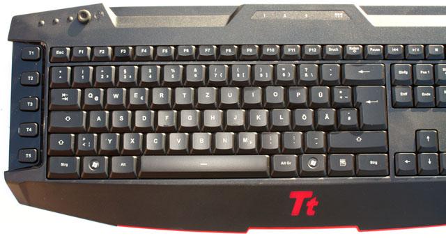 Challenger  Pro left side of keyboard