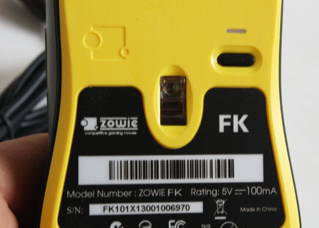 Zowie FK mouse sensor